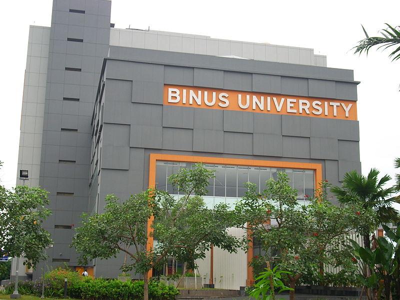 Binus peringkat ke-2 universitas swasta terbaik di Jakarta