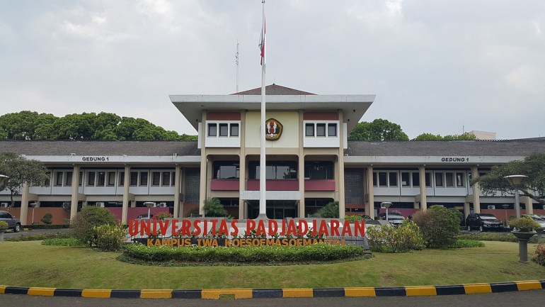 unpad salah satu universitas terbaik di Bandung